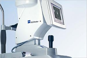 equipo de biometria IOL master